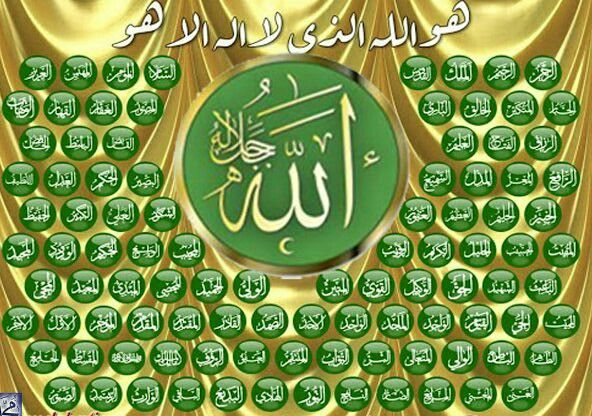 ALLAH Any person who is suffering from a big  disease which is uncureable reads this name 100 times  and prays for his good health God will grant him health.   2. AL-RAHMAN If a person reads this name 100 times  after every prayer God will remove all kind of  irresponsibilites from his heart.   3. AL-RAHEEM If a person reads this name 100 times  after every prayer all the nation of God will love that person.   4. AL-MALIK Any person who reads this name of God  after every prayer of Fajar God…