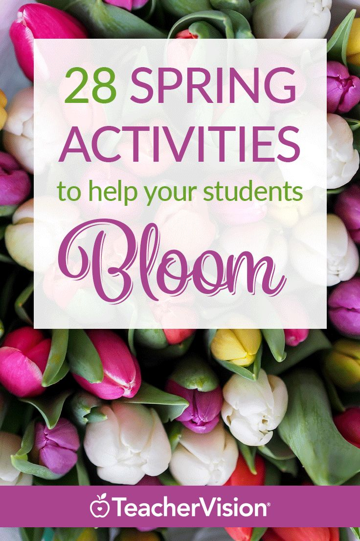 28 Spring Activities to Help Your Students Bloom  | Sign up for a 7-Day Trial and download our Spring Activities & Resources Printable Book for free! You'll get tons of teaching materials for spring, Easter, Passover, Earth Day, and more. (Grades K-10)
