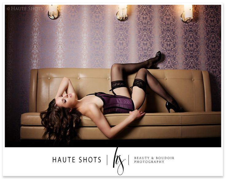Corsets are excellent for girls looks for a little more structure in the torso area. And, we LOVE garter belts and thigh-high stockings. The really kick it up a notch.   Image Courtesy of Haute Shots.