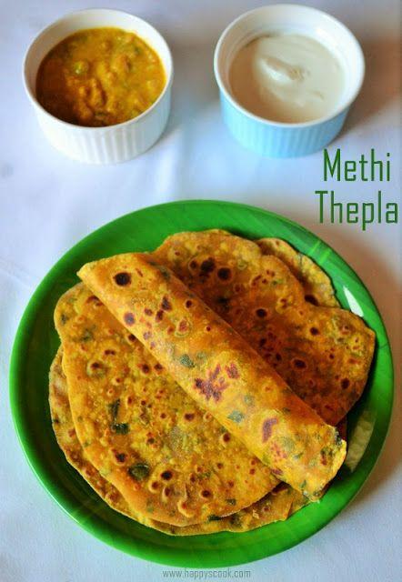 Methi Thepla Recipe