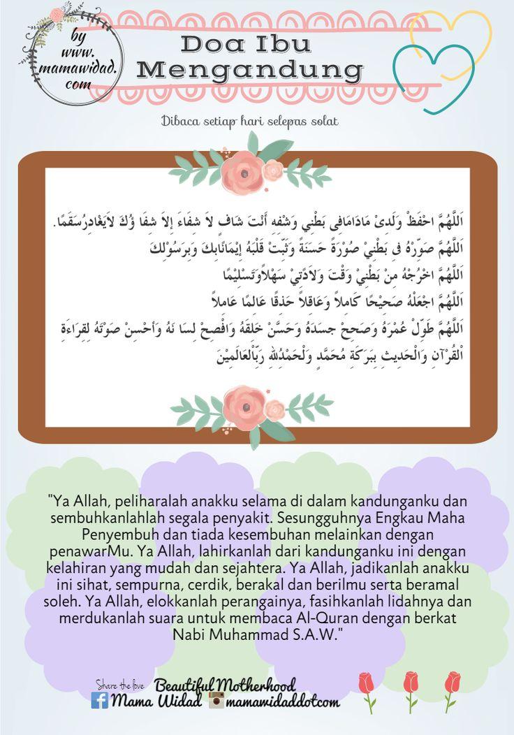 Doa khusus untuk ibu hamil amalkan baca setiap kali selepas solat 5 waktu