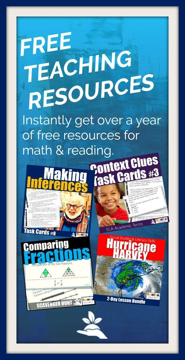 (Free) Monthly Teaching Resources | TeamTom Testers. Join thousands of other teachers who get free teaching resources and discover fresh ideas each month! via @teamtomwaters