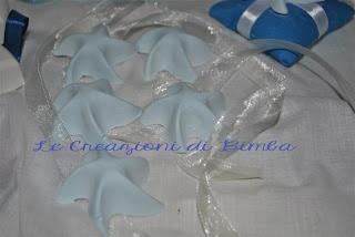 stelline profumate per il Battesimo dei vostri bambini, come bomboniera o segnaposto per il tavolo.
