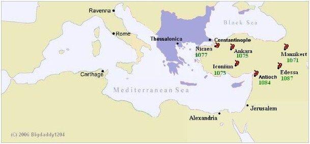 Pérdida de Anatolia tras Manzikert