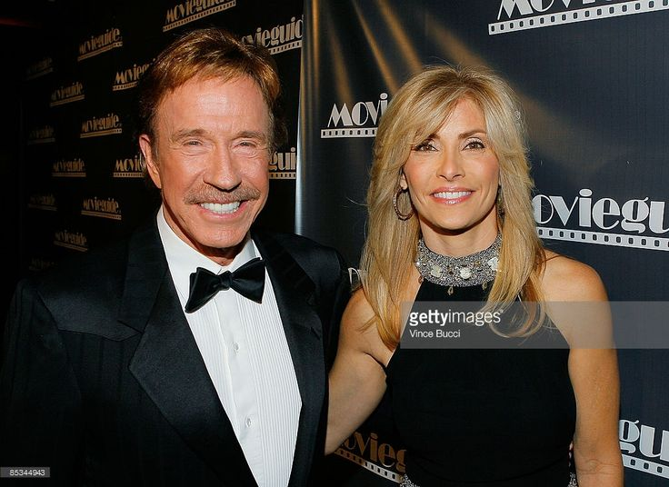 Actor Chuck Norris and wife Gena O'Kelley attend the 17th Annual Movieguide Faith and Values Awards at the Beverly Hilton Hotel on February 11, 2009 in Beverly Hills, California.
