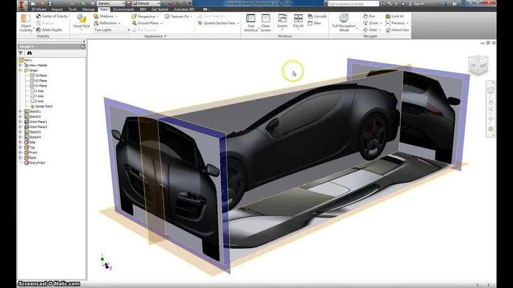Autodesk Inventor Basic Car modeling Part 1