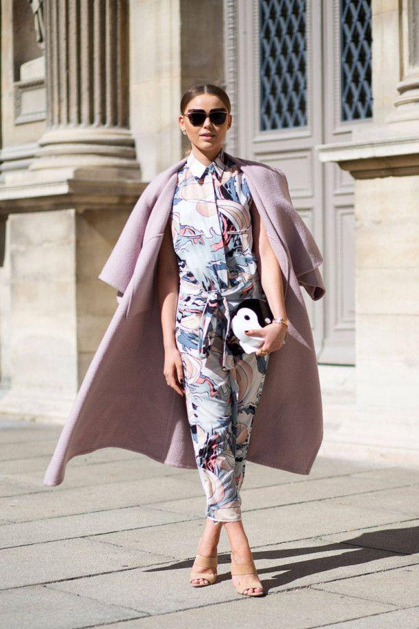 Street style at Paris Fashion Week #pfw #style