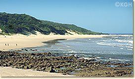 beach of Kei Mouth