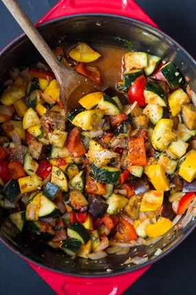 Ratatouille-Inspired Summer Veggie Dish #recipes #vegan