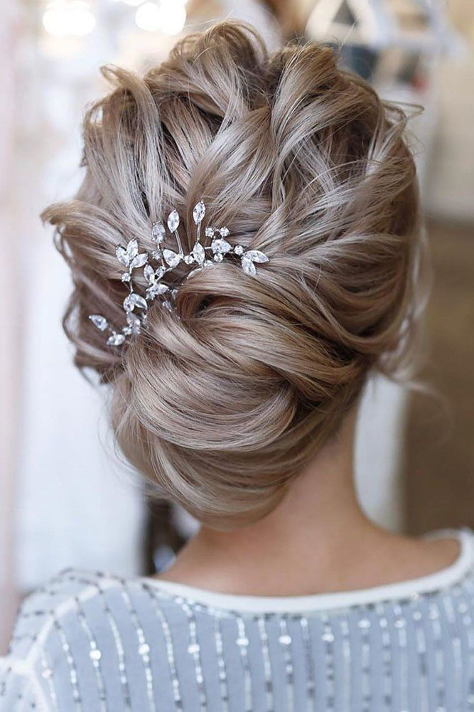 30 Best Ideas Of Wedding Hairstyles For Thin Hair Long Hair Updo Updos For Medium Length Hair Bridal Hair Pictures