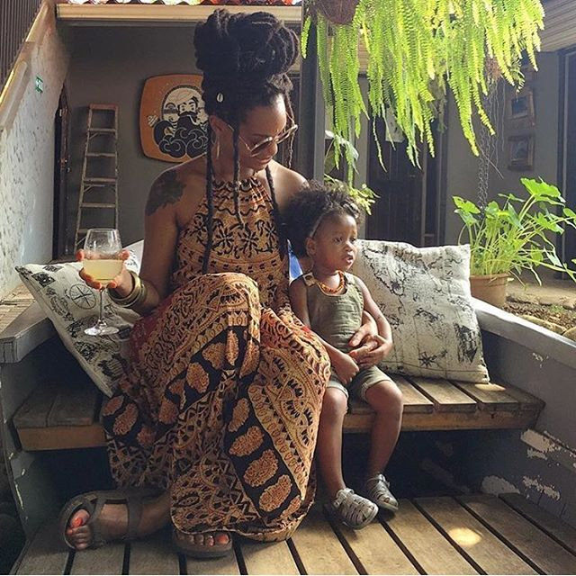 Absolutely love the hair and boho-chic styling of @brandichantalle in this picture with her adorable little one. She's also the owner of @mamaandmewraps - head wraps lined with satin! We're eager to get our hands on one, who wouldn't be!?  #naturalhair #hairstyle #instahair #hairstyles #longhairdontcare #braid #fashion #instafashion #style #curly #hairoftheday #hairideas #motherhood #hairofinstagram #love #picoftheday #beautiful #photooftheday #instagood #fun #smile #pretty #follow #hair…
