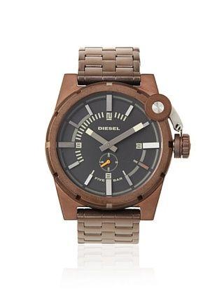 Diesel Men's DZ4236 Brown/Black Stainless Steel Watch