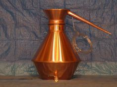 COLONEL WILSONS COPPER MOONSHINE STILLS. 30 GALLON OZARK MOUNTAIN STILL $1975. Custom handcrafted copper stills, forged by the Colonel himself here in the Ozark mountains of Arkansas. Old fashion craftsmanship combined with a few modern touches makes these the finest copper stills available. All copper stills with brass fittings makes for the best thermal conductivity offered by precious metals.