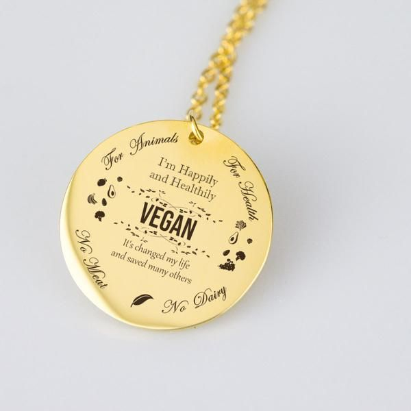 Vegan Pendant #2