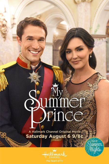"""'My Summer Prince' - a Hallmark Channel Original """"Summer Nights"""" Movie August 6, 2016                                                                                                                                                                                 More"""