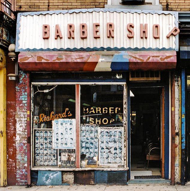 Frank S Shoe Repairs In The Inwood Neighborhood Of Upper Manhattan Barber Shop Store Fronts Barber