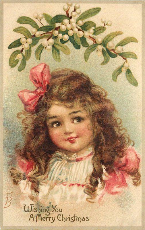 Рождественские винтажные открытки. Обсуждение на LiveInternet - Российский Сервис Онлайн-Дневников