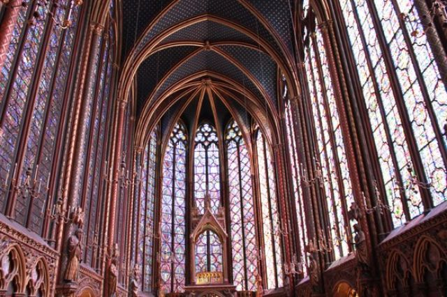 (David Bordes/CMN Paris) Alternative Paris: Be inspired by Sainte-Chapelle (You're spoilt for choice when it comes to churches in Paris, with the likes of Notre Dame and Sacré-Cœur. But Sainte-Chapelle (Boulevard du Palais, Metro – Cité) easily rivals them in the beauty stakes, with three walls of near floor-to-ceiling stained glass. Inside the gothic masterpiece, the air dances with colours as the light catches the multicoloured glass – guaranteed to have you captivated.)