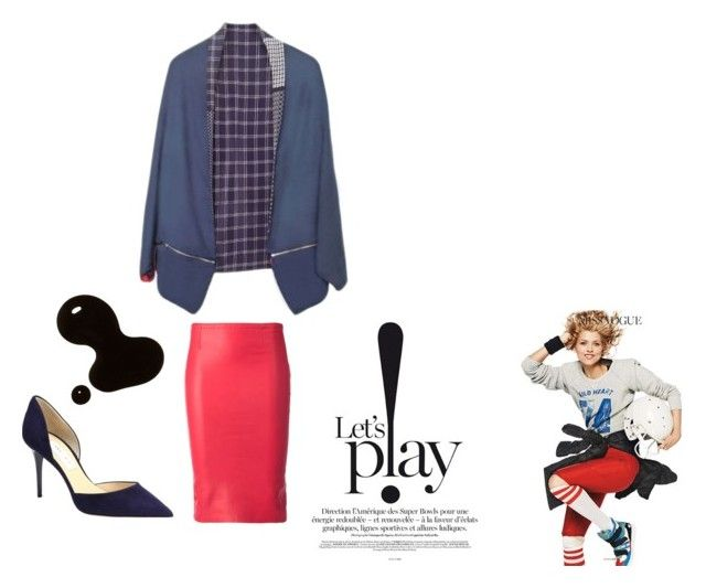"""""""Let's Play"""" by florenzcollection on Polyvore featuring moda, Jimmy Choo y STOULS"""