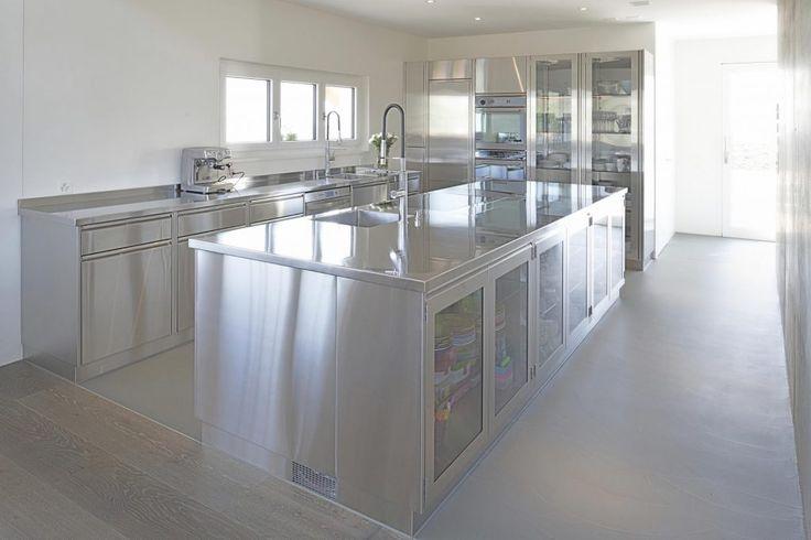 design edelstahl kchen, 50 best edelstahl küchen niederwiler images on pinterest, Design ideen