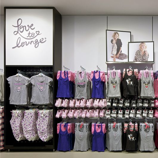 [Primark Love To Lounge Brand ID Identity Logo Lounging Relax Clothing Fashion Retail Interior Store]