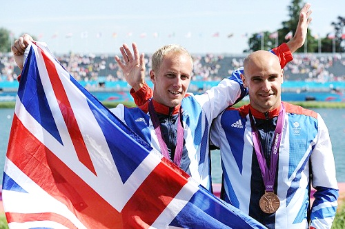 Team GB Medals 2012   52. Liam Heath and Jon Scofield - BRONZE   (Canoe Sprint: Men's Kayak Double (K2) 200m)