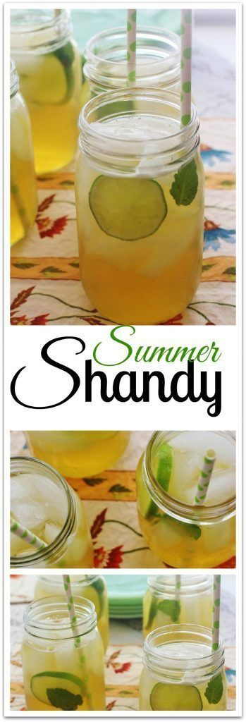 Summer Shandy. Fresh lemonade mixed with summer ale.