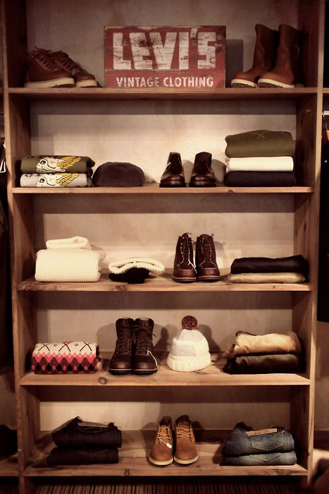 arrange your shelves like a store and have a retail experience every morning (without actually spending money) :D