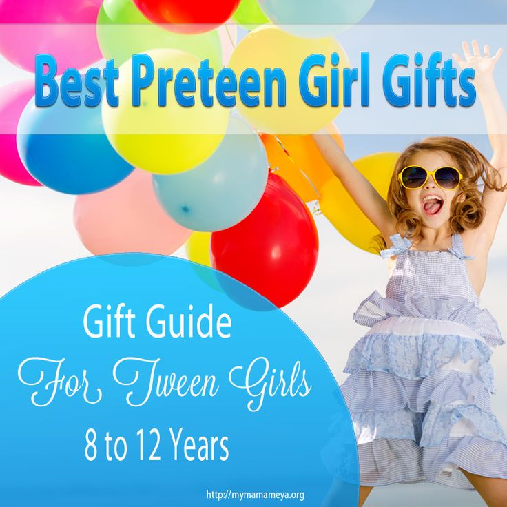 LOVE this GIFT GUIDE! If you need to shop for a tween girl and you're stuck on what to Buy, this Gift Guide for 8 to 12 year old girls is filled with Brilliant #GiftIdeas for #TweenGirls.  http://mymamameya.org/best-preteen-girl-gifts/