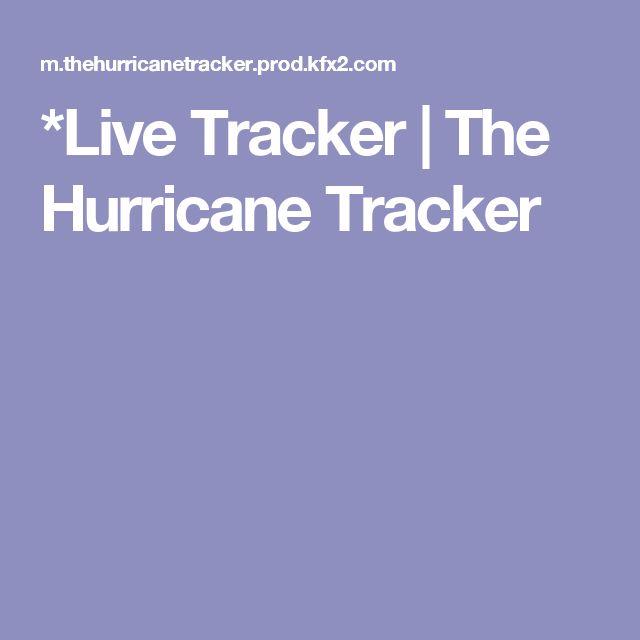 *Live Tracker|The Hurricane Tracker
