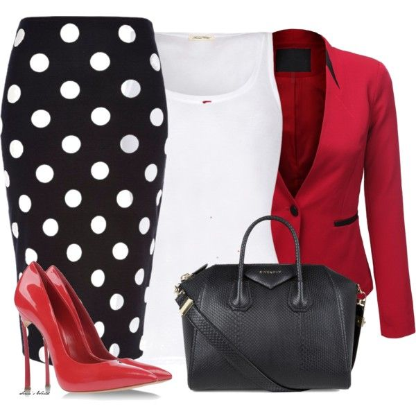 """""""Dotted skirt"""" by sonies-world on Polyvore"""