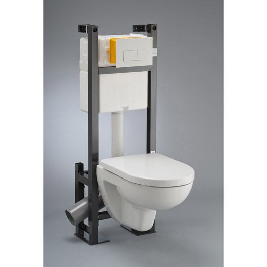 1000 ideas about pack wc suspendu on pinterest wc - Pack toilette suspendu ...
