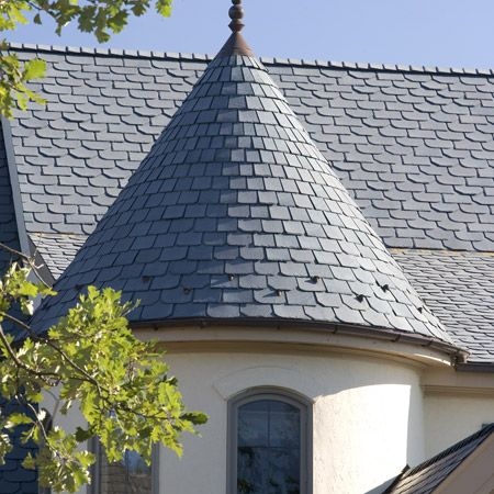 Recycled-Rubber Tile Want a roofing material that's light on both your roof and…