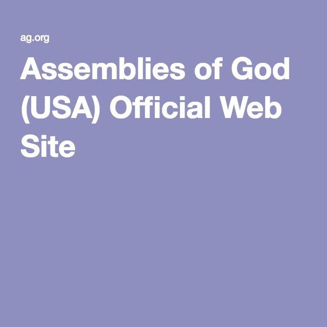 Assemblies of God (USA) Official Web Site