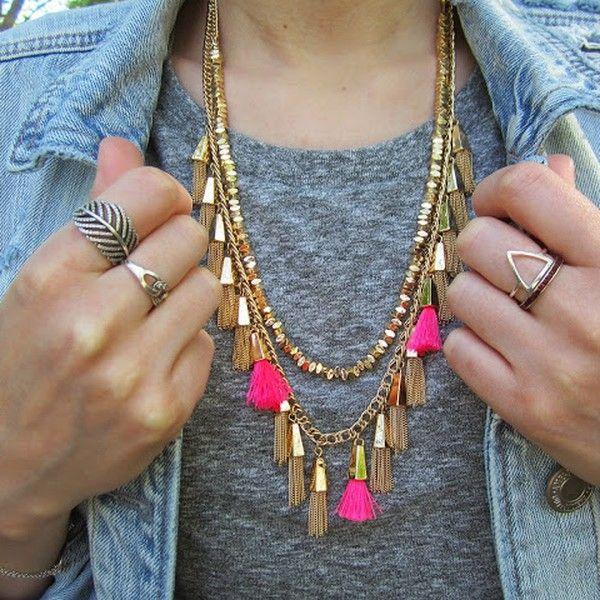 25+ best ideas about Tassel Jewelry on Pinterest