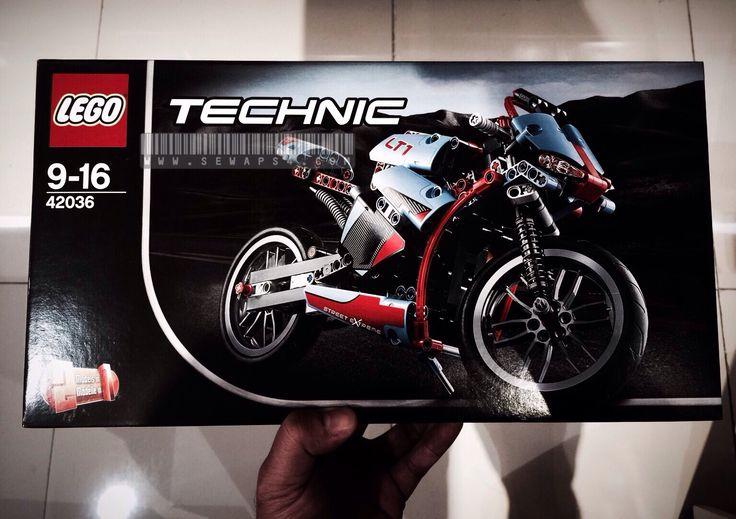 Lego Motorbike 42036 like it so muaach
