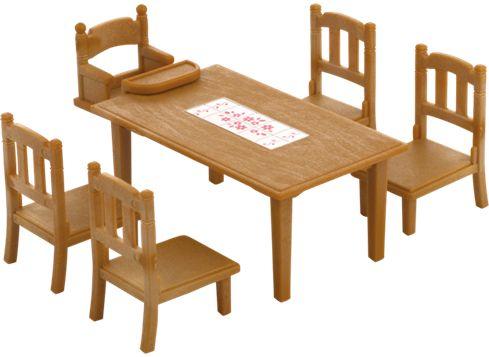 Sylvanian Families bord och stolar