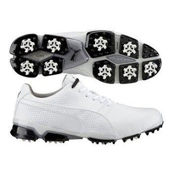 Puma TitanTour Ignite Golf Shoes White SS16