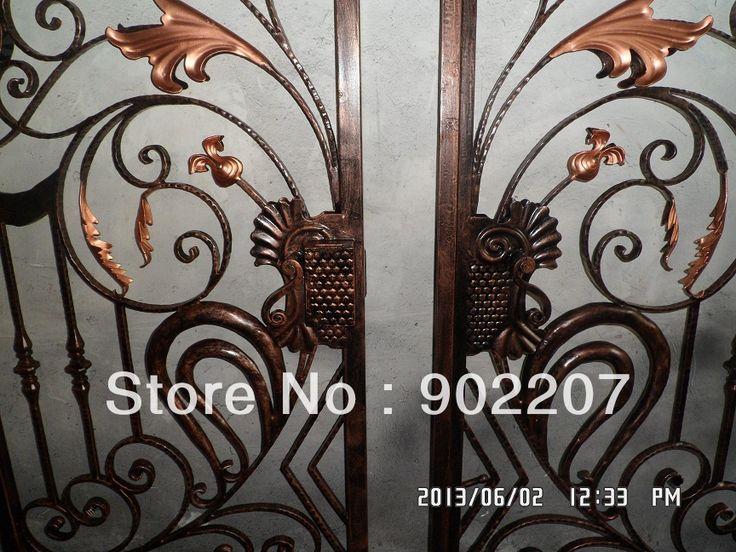 Двери железные ворота безопасности, ворота, кованые двери entrance-00188 железная дверь