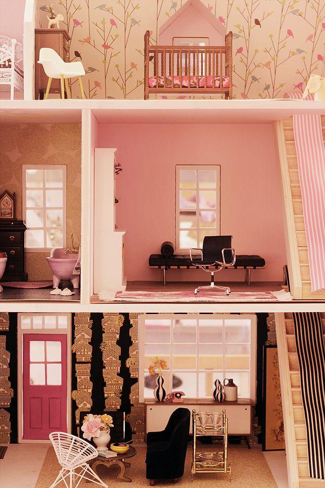 49 Best Images About DIY Dollhouse On Pinterest