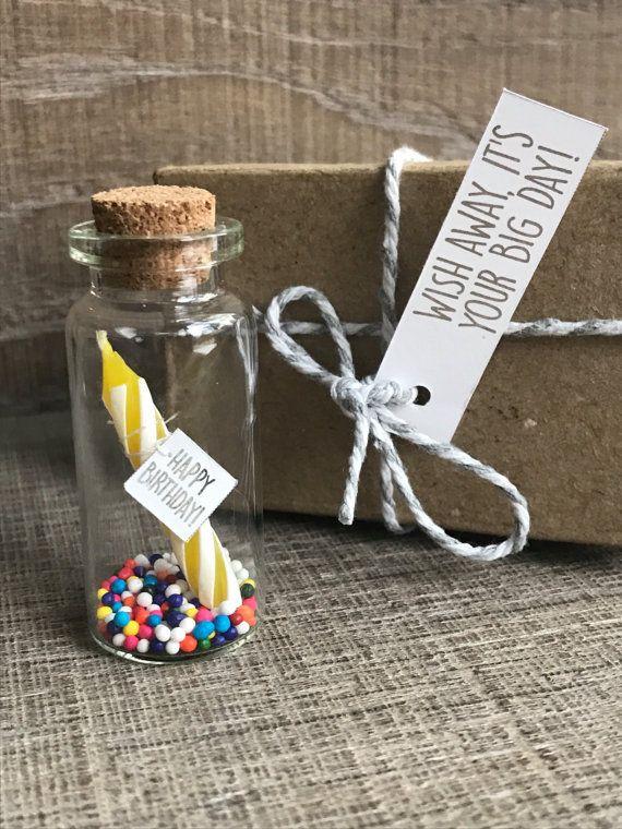 Birthday in a Little Bottle Gift or invitation Custom card