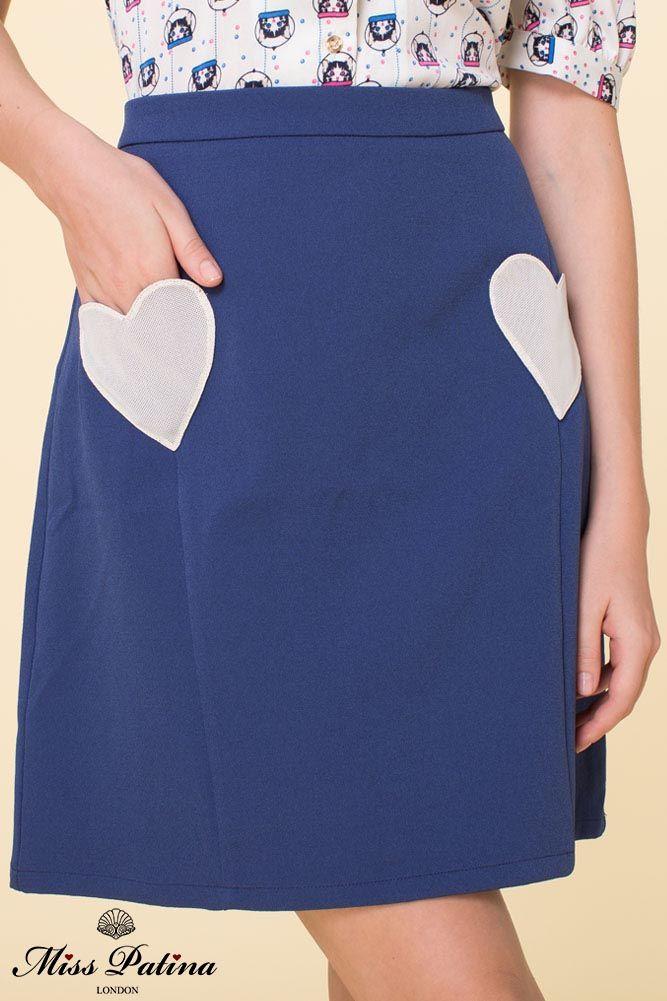 The Marina Skirt (Navy) - £55.80