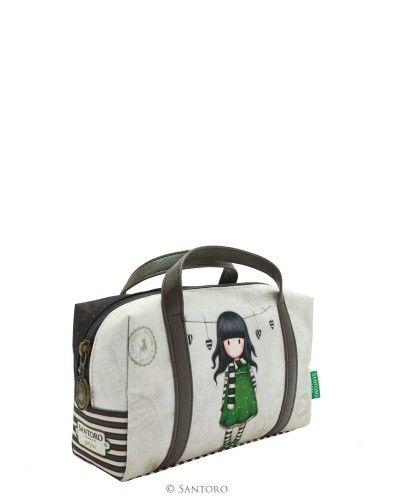 Gorjuss Suitcase Pencil Case - The Scarf