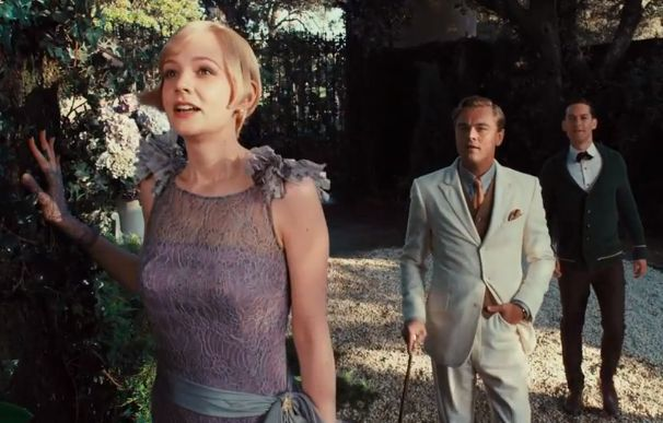 Fashion Teasers from the New Great Gatsby Trailer: Daisy in Lilac
