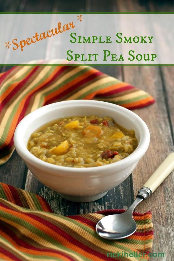 Spectacular Simple Smoky Split Pea Soup
