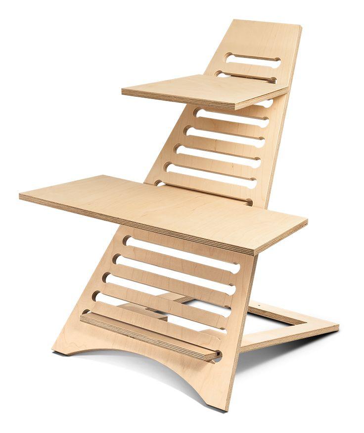 die besten 25 diy standing desk ideen auf pinterest stehpulte rednerpult und laptopgestell. Black Bedroom Furniture Sets. Home Design Ideas