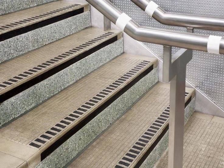 exterior stair treads and nosings. how to install cast iron stair nosing on steps : exciting image of stainless steel metal exterior handrails and cream staircase for outdoor treads nosings s