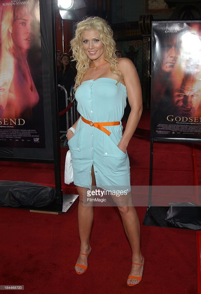 Torrie Wilson during 'Godsend' Los Angeles Premiere - Arrivals at Grauman's Chinese Theatre in Hollywood, California, United States.