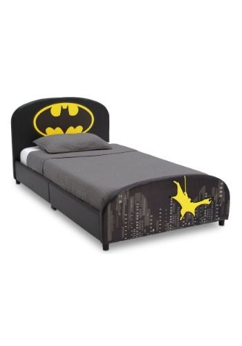 DC Batman Upholstered Twin Bed#Batman, #DC, #Upholstered | Modern ...