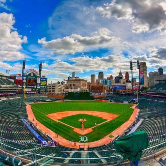 Comerica Park Detroit Michigan: 126 Best Images About Detroit Tiger Stadium On Pinterest